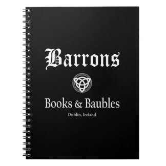 Spiral Notebook: Barrons Books and Baubles Notebook