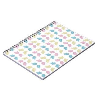 Spiral Notebook - Cutie Booties