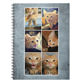Spiral notebook for awesome things