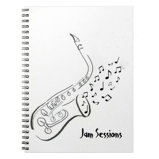 Spiral Notebook for Jam Sessions