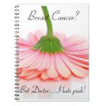 Spiral Notebook for the Breast Cancer Survivor