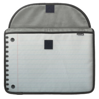 Spiral Notebook Lined Paper Sleeves For MacBooks