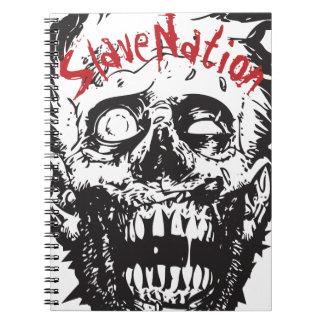 Spiral Notebook, Zombie Head, Slave Nation