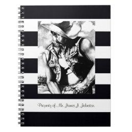 Spiral Notebooks CUSTOMIZE Fine Art Cowboy