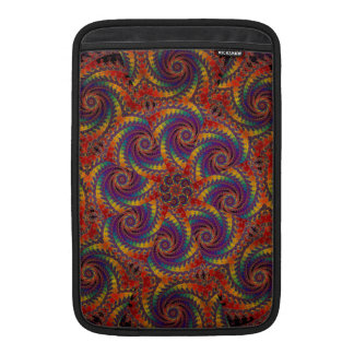 Spiral Octopus Psychedelic Rainbow Fractal Art Sleeve For MacBook Air