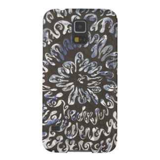 Spiral of black flame galaxy s5 case