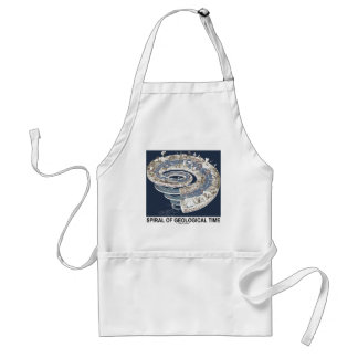Spiral Of Geological Time (Earth's History Spiral) Adult Apron