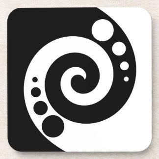 Spiral Of Life Beverage Coaster