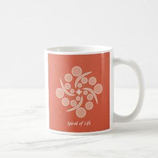 Spiral of Life Classic White Coffee Mug