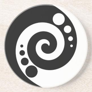 Spiral Of Life Drink Coaster