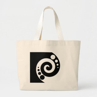 Spiral Of Life Large Tote Bag