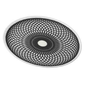 Spiral Optics Plate