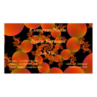 Spiral Oranges Business Card