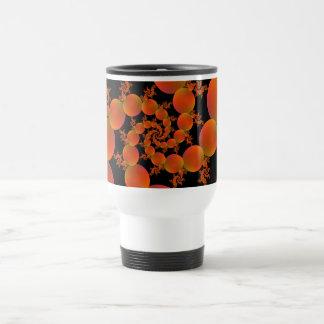 Spiral Oranges Travel Mug