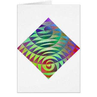 Spiral Pathways Greeting Cards