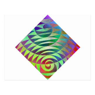 Spiral Pathways Post Card