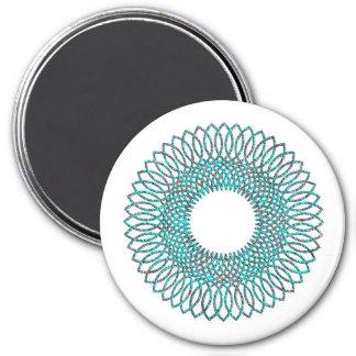 Spiral Pattern 1 Fridge Magnets