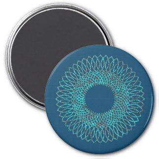 Spiral Pattern 1 Refrigerator Magnet