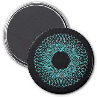 Spiral Pattern 1 Refrigerator Magnets