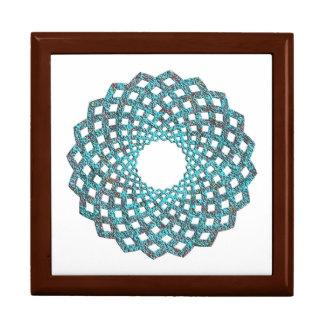 Spiral Pattern 8 Keepsake Box