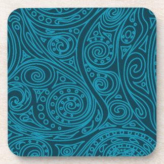 Spiral pattern Biscay Bay Coaster