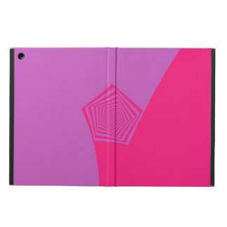 Spiral Pentagon in Pink Tones iPad Air Case