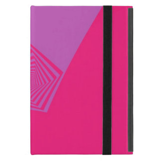 Spiral Pentagon in Pink Tones iPad Mini Case