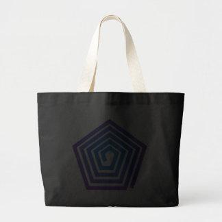 Spiral pentagon spiral Pentagon Bags