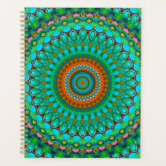 Spiral Planner Geometric Mandala G388