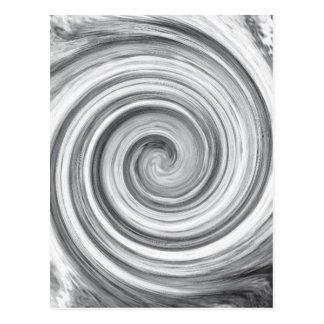 spiral postcards
