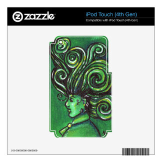 Spiral Profile Decal For iPod Touch 4G