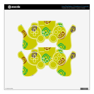 Spiral PS3 Controller Skin