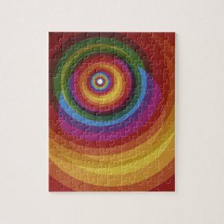 Spiral Rainbow Vector Background Jigsaw Puzzle
