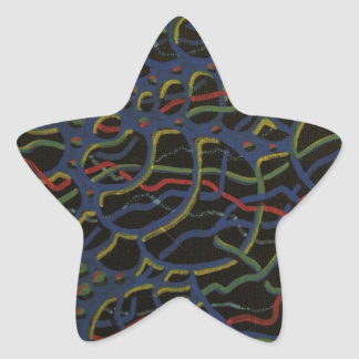 Spiral Realms Gift Product Line Star Sticker