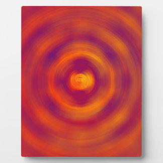 Spiral Red abstract bright colours Photo Plaques