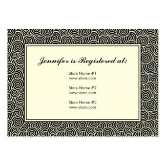 "Spiral Registry Card - 3.5"" x 2.5"" Large Business Cards (Pack Of 100)"