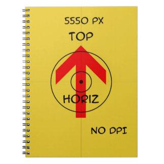 spiral ring book - horiz spiral note book