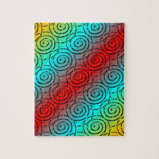Spiral Ripple Jigsaw Puzzle