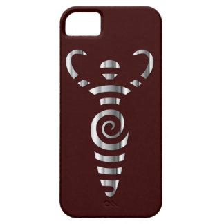 Spiral River Goddess - Chrome - 3 iPhone SE/5/5s Case