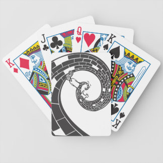 Spiral Road Bicycle Playing Cards