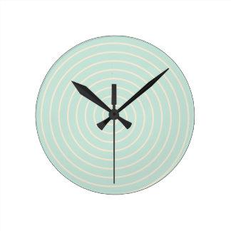 Spiral Round Clock