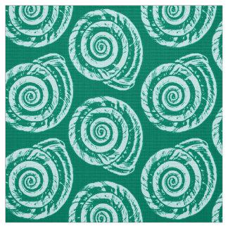 Shell Pattern Fabric | Zazzle