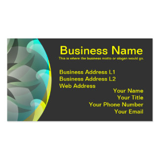 Spiral Shark by Kenneth Yoncich Business Card