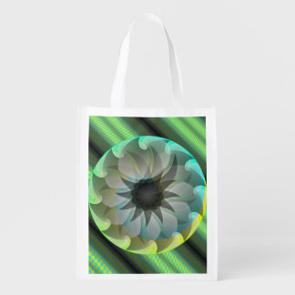 Spiral Shark by Kenneth Yoncich Market Totes