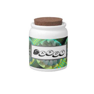 Spiral Shark Candy Jar