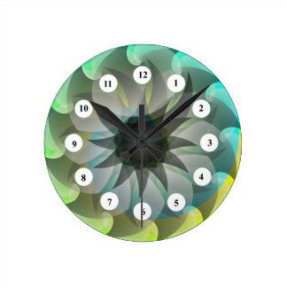 Spiral Shark (Classic Face) Clock