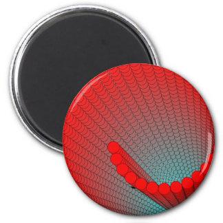 spiral-shell 2 inch round magnet