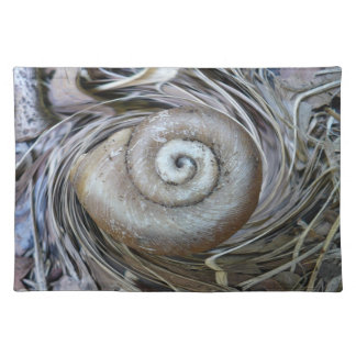 Spiral Shell American MoJo Placemat