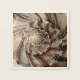 Spiral Shell Disposable Napkins
