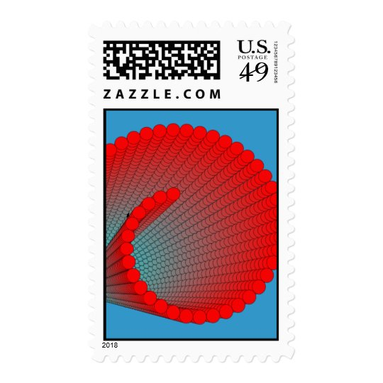 spiral-shell postage